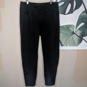 Melissa McCarthy Seven7 Black Pencil Skinny Jeans